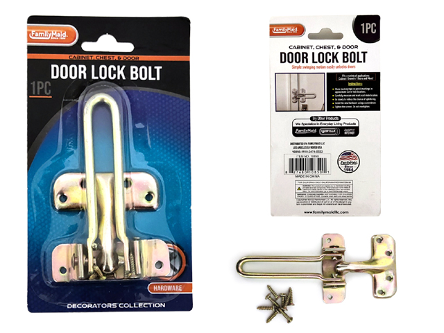 Door Lock,Bolt,Hinge,Accs