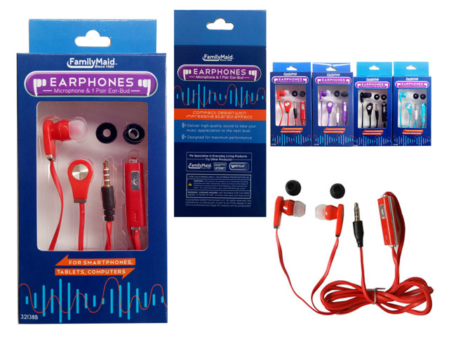 Earphones Wholesale 99 Cents Items Dollar Store Items